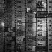 Bank Vault Deposit Box Art Print