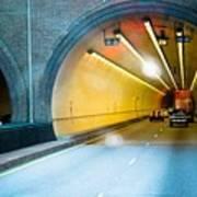 Bankhead Tunnel Art Print