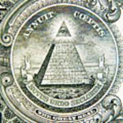 Banknote Detail Art Print