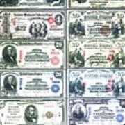 Banknotes Art Print