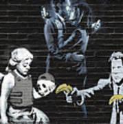 Banksy - Failure To Communicate Art Print