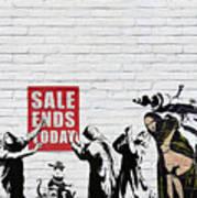Banksy - Saints and Sinners   Art Print