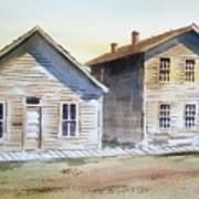 Bannack Ghost Town Montana Art Print