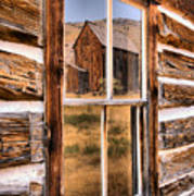 Bannack Reflection In The Past Art Print