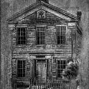 Bannack School  Art Print