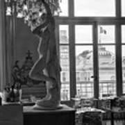 Banquet Room At The Musee D Orsay Art Print