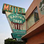 Banyan Tree Motel Art Print