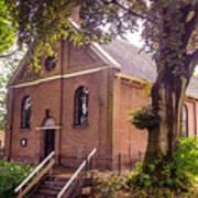 Baptist Church In Giethoorn. Netherlands Art Print