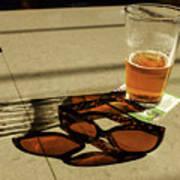 Bar Shadows Art Print
