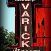 Bar Varick Nascar Art Print