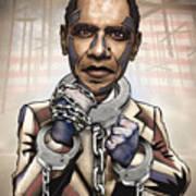 Barack Obama - Stimulate This Art Print by Sam Kirk