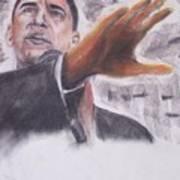 Barack Obama Art Print