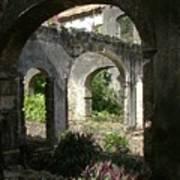 Barbados Ruins Art Print