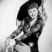 Barbara Stanwyck Art Print