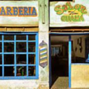 Barber Shop Art Print