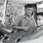Barbers 2 Art Print