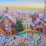 Barcelona 2 Art Print