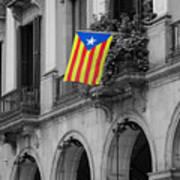 Barcelona - Estelada Art Print