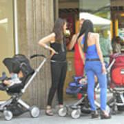 Barcelona Moms Art Print