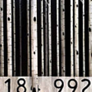 Barcode #19 Art Print