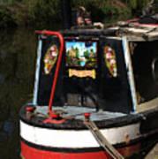 Barge Art Art Print