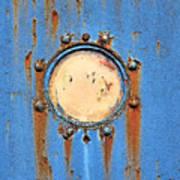 Barge Porthole Art Print