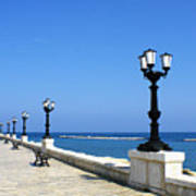 Bari Waterfront Art Print