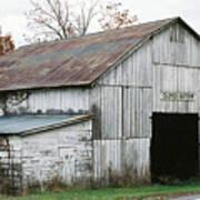Barn At Clover Bottom Art Print