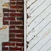 Barn Door Abstract Art Print