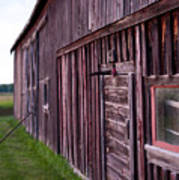 Barn Door Small Art Print