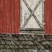 Barn Door Art Print
