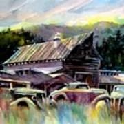 Barn Fresh Cabriolets Art Print