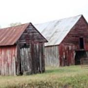 Barn In Kentucky No 100 Art Print
