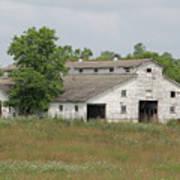 Barn In The Field 948 Art Print