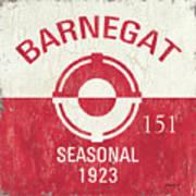 Barnegat Beach Badge Art Print