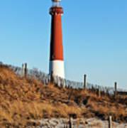 Barnegat Lighthouse Nj Art Print