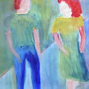 Barney And Elizabeth Art Print