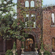 Barnsley Garden Ruins Art Print