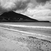 Barnynagappul Strand On The Wild Atlantic Way Coastal Route Doogort Achill Island County Mayo Irelan Art Print