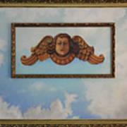 Baroque Angel Art Print