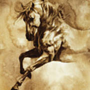 Baroque Horse Series IIi-i Art Print