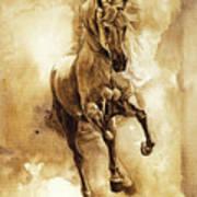 Baroque Horse Series IIi-ii Art Print