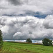 Barre Clouds 2181 Art Print