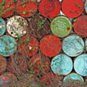 Barrels - Play Of Colors Art Print