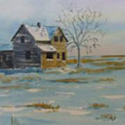 Barren Prairie Art Print