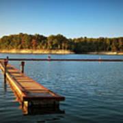 Barren River Lake Dock Art Print
