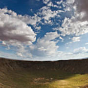 Barringer Meteor Crater #4 Art Print