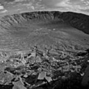 Barringer Meteor Crater #7 Art Print