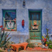 Barrio Viejo With Character Art Print