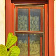 Barrio Window Art Print